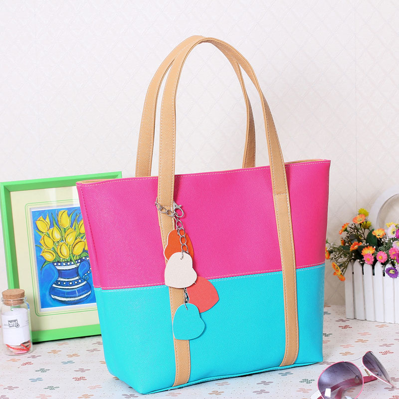 Candy Handbags bags Pu Leather